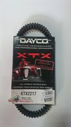 Усиленный ремень вариатора dayco XTX2217
