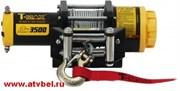 Лебедка для квадроцикла T-MAX ATW-PRO 3500 со стальным тросом  W0521