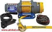 Лебедка электрическая для ATV Superwinch Terra25 с синтетическим тросом  W0856