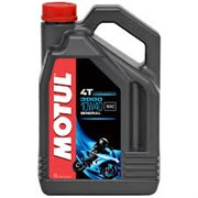Масло MOTUL 3000 4T 10W40 4 литра  104046