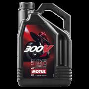 Масло MOTUL 300V 4T FACTORY LINE 5W40 4 литра  104115