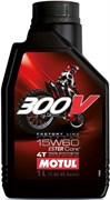 Масло MOTUL 300V 4T FACTORY LINE OFF ROAD 15W60 4 литра  104138