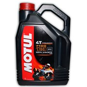 Масло MOTUL 7100 4T 10W40 4 литра  104092
