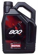 Масло MOTUL 800 2T FACTORY LINE OFF ROAD 4 литра  104039
