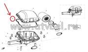 Прокладка крышки воздушного фильтра 0800-110004