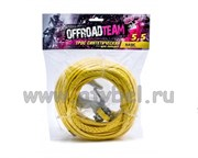 Трос для лебедки синтетический OffRoadTeam Basic 5.5 х 15м