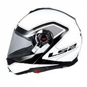 Шлем LS2 FF386  mercury white-black