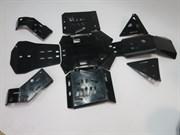 Комплект пластиковой защиты днища Rival для BRP G2 Outlander 500 650 800 1000 715002927 715002926 K.7239.1